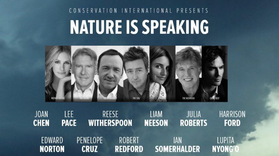 Природа говорит актеры