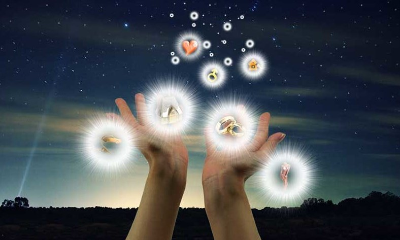 Послание желания во вселенную