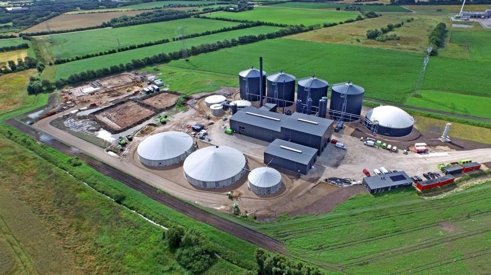 Биогазовые установки в Дании