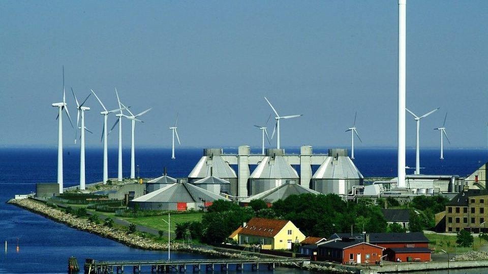Дания ветроэнергетика
