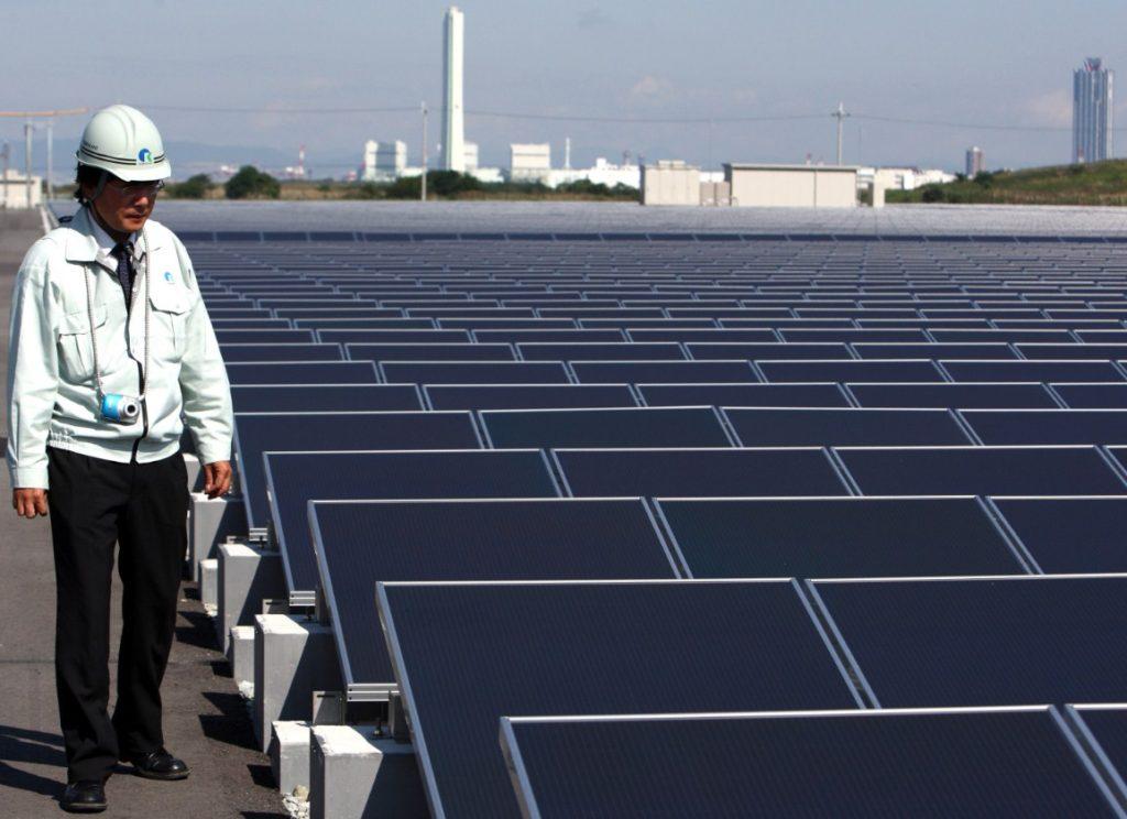 Альернативные источники энергии Япония