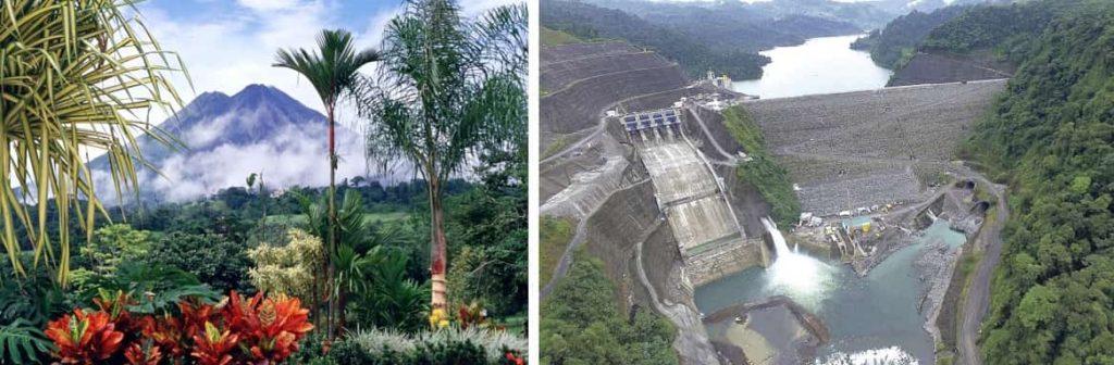 Коста Рика гидроэлектростанция