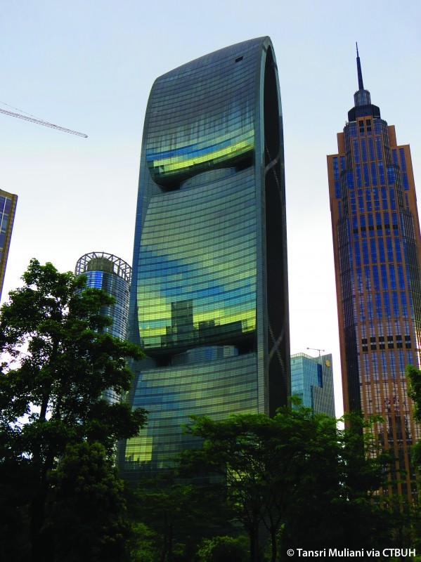 небоскреб Pearl River Tower в Китае