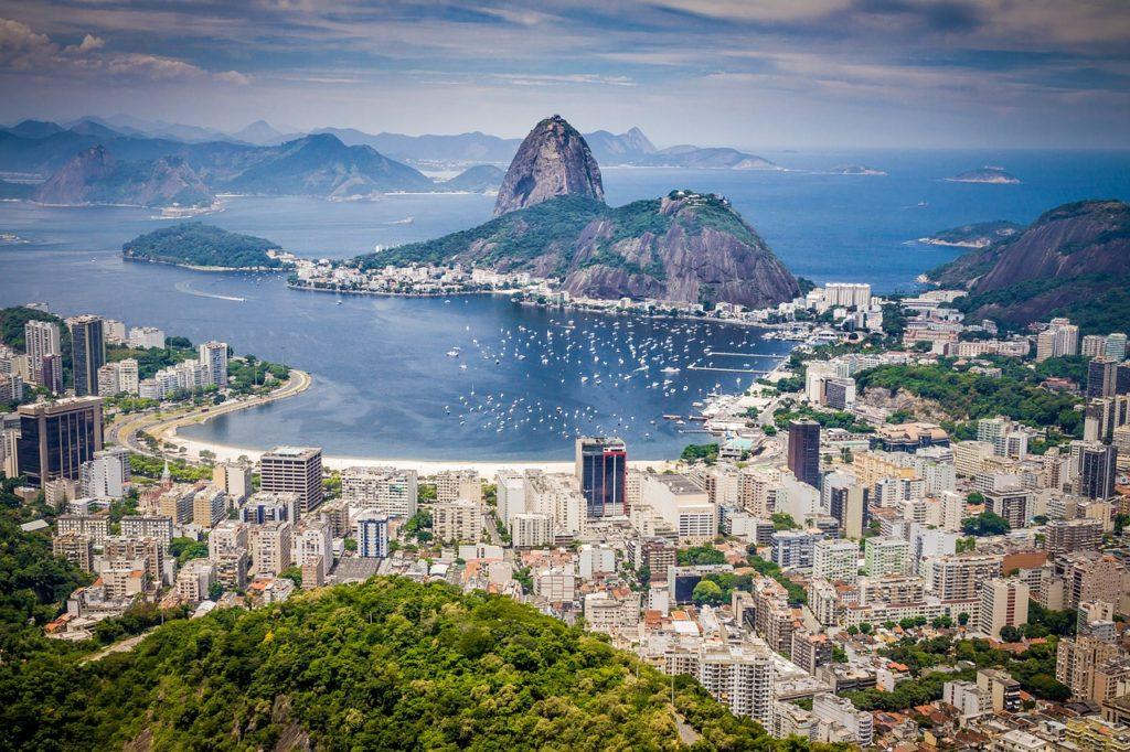Рио-де-Жанейро панорама