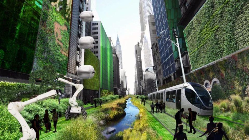 Умный зеленый город