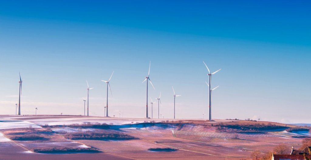 Ветровые турбины, Германия