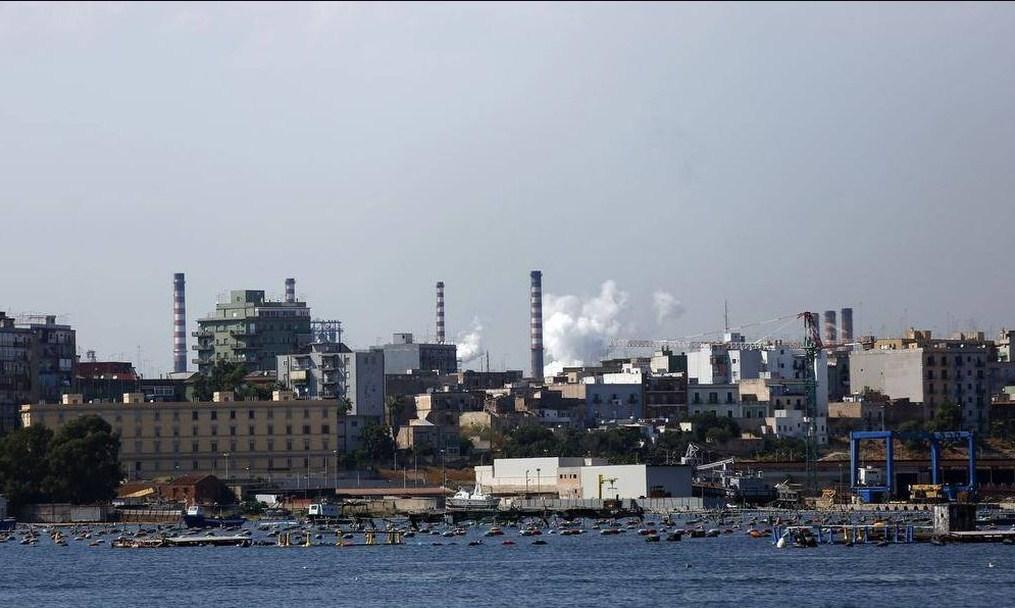 Завод Таранто в Италии
