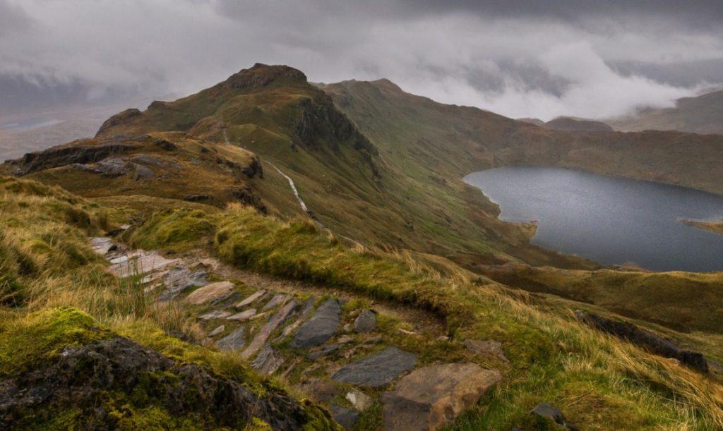 Озеро, Сноудония, Уэльс, Великобритания