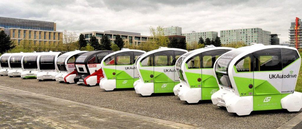 Тихоходные машины в Великобритании