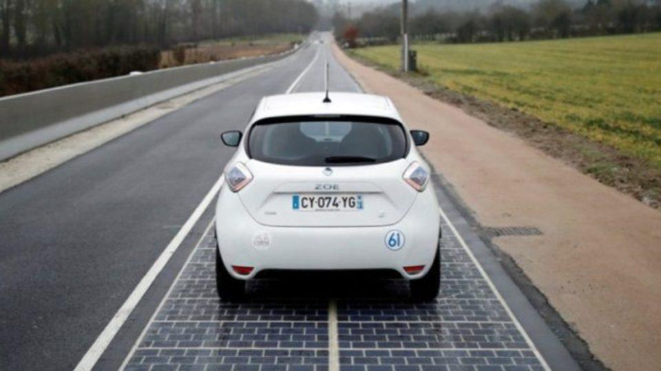 Солнечные батареи дороги