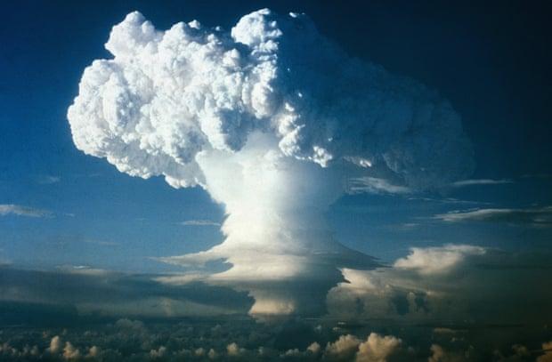 ядерный взрыв на маршаловых островах