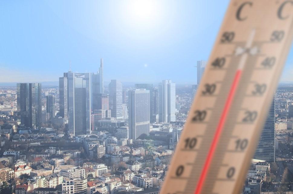 Повышение температуры город
