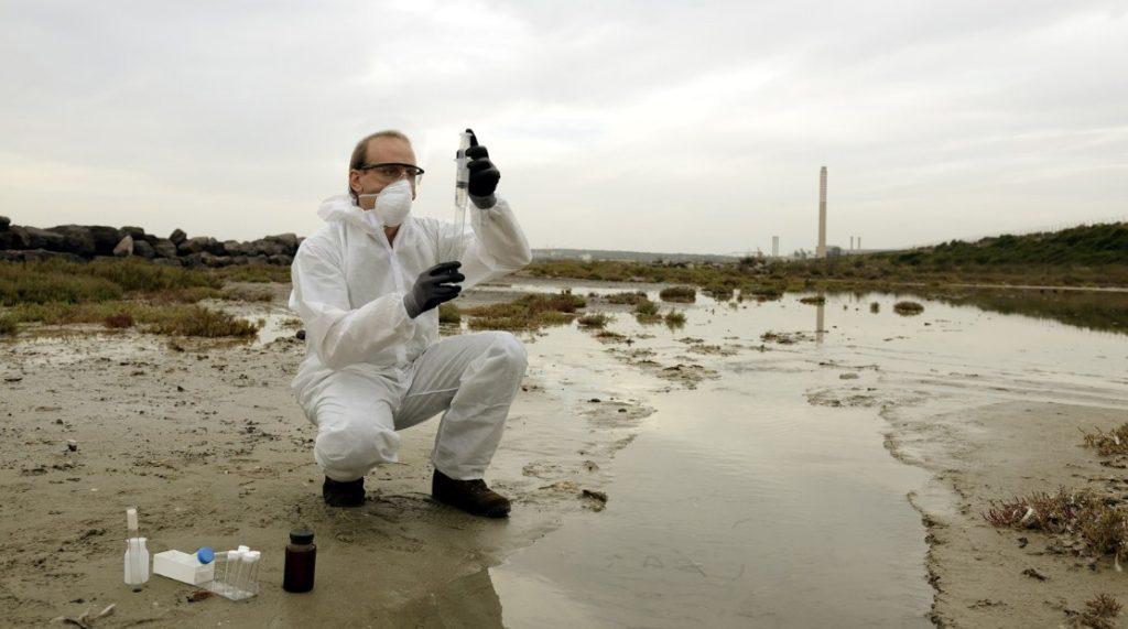 Измерение загрязнения контроль
