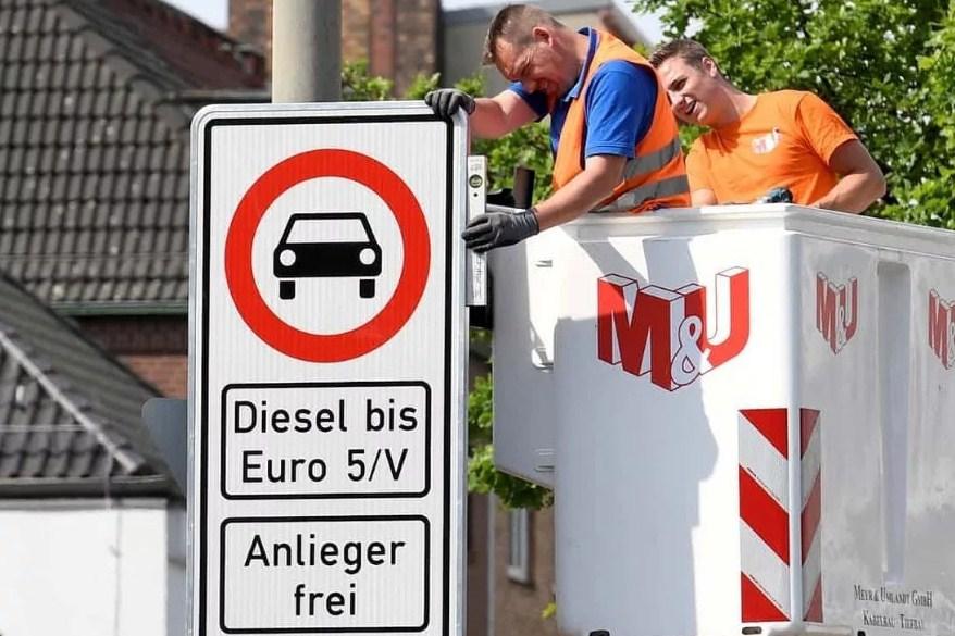Запрет дизельных автомобилей в Германии