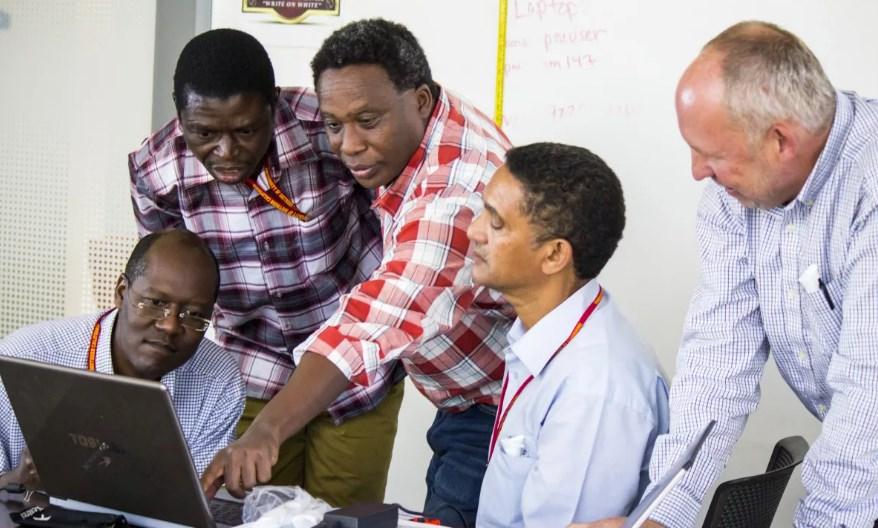Африка ученые