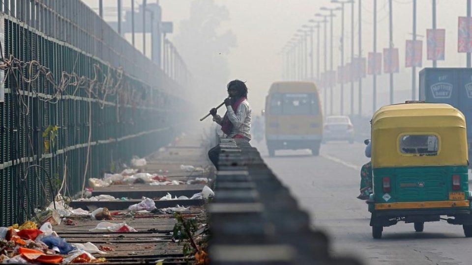 индия загрязнение воздуха и пластик