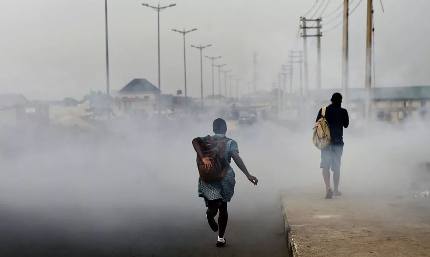 Загрязнение воздуха Африка