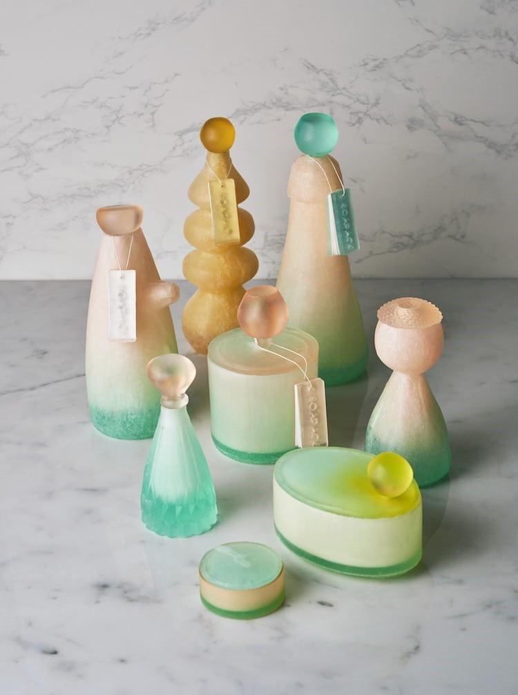 Бутылки из мыла