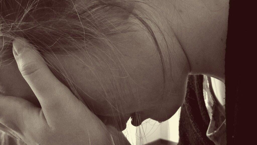 Стресс женщина