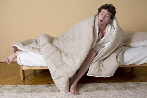Сложно встать с постели
