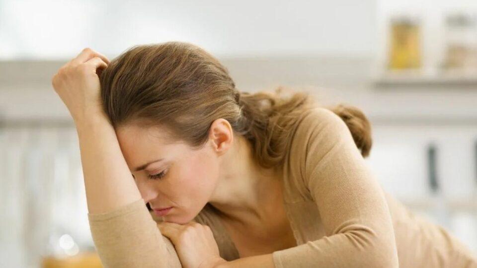Перенапряжение женщина